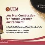 Public Lecture Series by Prof. Dr. Mohammad Nazri Mohd. Ja'afar