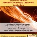 Electrospinning: Nanofiber Technology, Theory and Applications