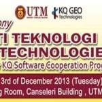 MOU signing ceremony between Universiti Teknologi Malaysia and KQ Geo Technologies Co. Ltd.