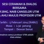 Majlis Dailog YBhg Naib Canselor