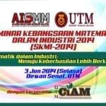 Seminar Kebangsaan Matematik Dalam Industri 2014 (SKMI-2014)