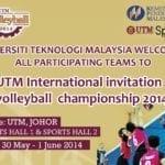 UTM International Invitation Volleyball Championship 2014