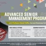 Advanced Senior Management Program