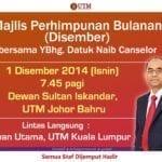 Monthly Meeting December