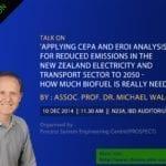 Talk On Applying CEPA and EROI analysis