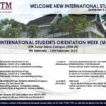 New International Students Orientation Week (MOPA)