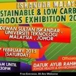 Iskandar Malaysia Sustainable & Low Carbon Schools Exhibition 2015