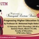 67th Professorial Inaugural lecture Series