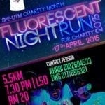 Fluorescent Night Run by SPE-UTM Charity Month 2015