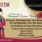 65th Professorial Inaugural Lecture Series