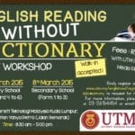 English Reading Without Dictionary 1 Day Workshop