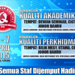Konvensyen Kualiti UTM 2015
