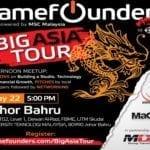 GameFounders Big Asia Tour featuring Unity: Johor Bahru