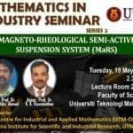 Mathematics in Industry Seminar Series 2