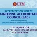 Lawatan Akreditasi EAC Program FKM