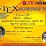 LATEX Workshop 2015