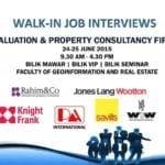 Walk-In Job Interviews