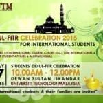 Eid-Ul Fitr Celebration 2015 for International Students