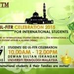 Eid-Ul Fitr Celebration 2015 for International Students