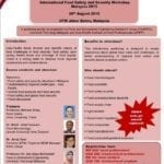 One-Day Workshop: International Food Safety and Security 2015