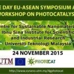 One Day EU-Asean Symposium and Workshop On Photocatalysis