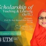Scholarship of Teaching And Learning (SoTL) Workshop