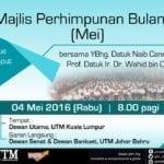 Majlis Perhimpunan Bulanan (Mei)