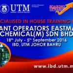 Plant Operators Eastman Chemical (M) Sdn Bhd