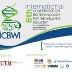6th International Conference on Biotechnology for Wellness industries