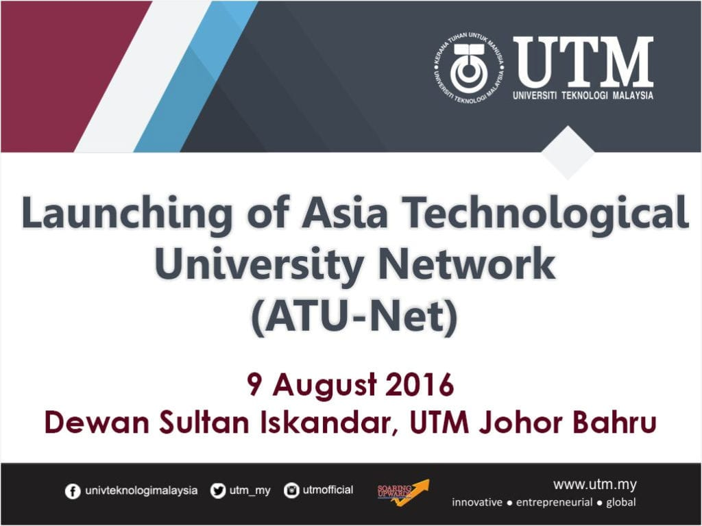 Atu Calendar.Launching Of Asia Technological University Network Atu Net