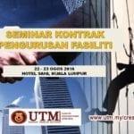Seminar Kontrak Pengurusan Fasiliti