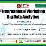 2nd International Workshop on Big Data Analytics – Towards Nth-Dimensional Data Science for Information Economy