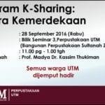 Program K-Sharing : Bicara Kemerdekaan