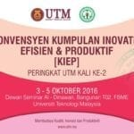 Konvensyen Kumpulan Inovatif, Efisien & Produktif (KIEP)