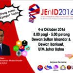 JEnID 2016 (Johor Entrepreneurship & Innovation Day)