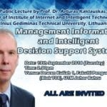 Public Lecture – Management Information and Intelligent Decision Support Systems