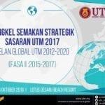 Bengkel Semakan Strategik Sasaran UTM 2017