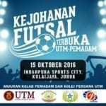 Kejohanan Futsal Terbuka UTM-PEMADAM