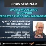 Spatial Modelling To Support Integrated Flood Risk Management