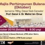 Majlis Perhimpunan Bulanan (Oktober)