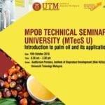 MPOB Technical Seminar (MTecS U)
