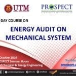 Two Day Course : Energy Audit on Mechanical System