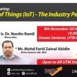 Internet of Things (IoT) – The Industry Perspective