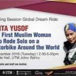 Sharing Session Global Dream Ride: Anita Yusof