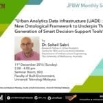 """""""Urban Analytics Data Infrastructure (UADI): A New Ontological Framework to Underpin The Next Generation of Smart Decision-Support Tools"""""""