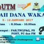 Roadshow Dana Wakaf Pendidikan UTM 2017