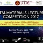 UTM Materials Lecture Competition 2017