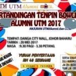 Pertandingan Tenpin Bowling Alumni UTM 2017