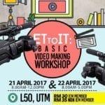 ET to IT: Basic Video Making Workshop