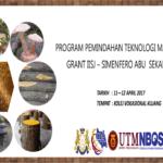 Program Pemindahan Teknologi Matching Grant IISJ – Simenfero Abu Sekam Padi
